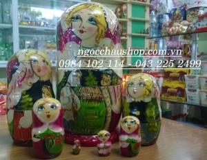 Búp bê Nga matryoshka (Loại 7 con)