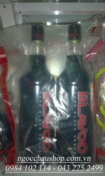Rượu Vodka đen BLAVOD (Nga) - 1.0L (Nga) - Hàng xách tay (DUTY FREE)