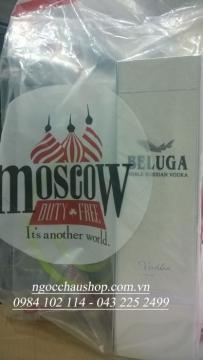 Rượu Beluga 1.0L (Nga) - Hàng xách tay (Duty Free)