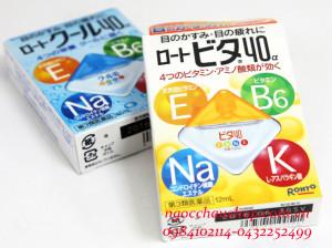 Thuốc Nhỏ Mắt Rohto Vitamin 40