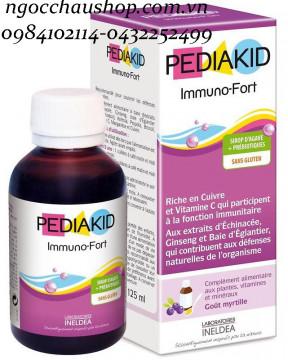 Pediakid Immuno - Fort tăng sức đề kháng 125ml