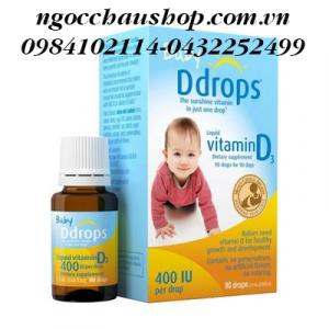 Vitamin D cho bé Baby Drops(90 giọt) 2.5ml