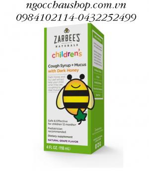 Thuốc trị ho Zarbee's 120ml 12M+