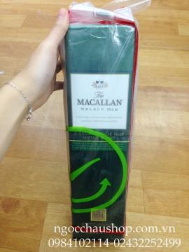 Rượu Macallan XANH 1.0L - Duty Free