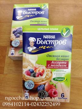 Yến mạch Nestle hoa quả (Nga) - HÀNG XÁCH TAY