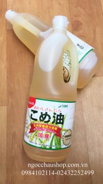 Dầu gạo cao cấp Tsuno (1500g) Nhật Bản