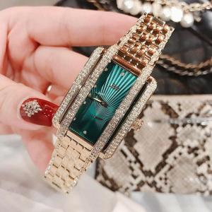 Đồng hồ nữ chính hãng JBW gold pha xanh pha lê - hàng order